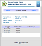 PAS-SMA Mobile website